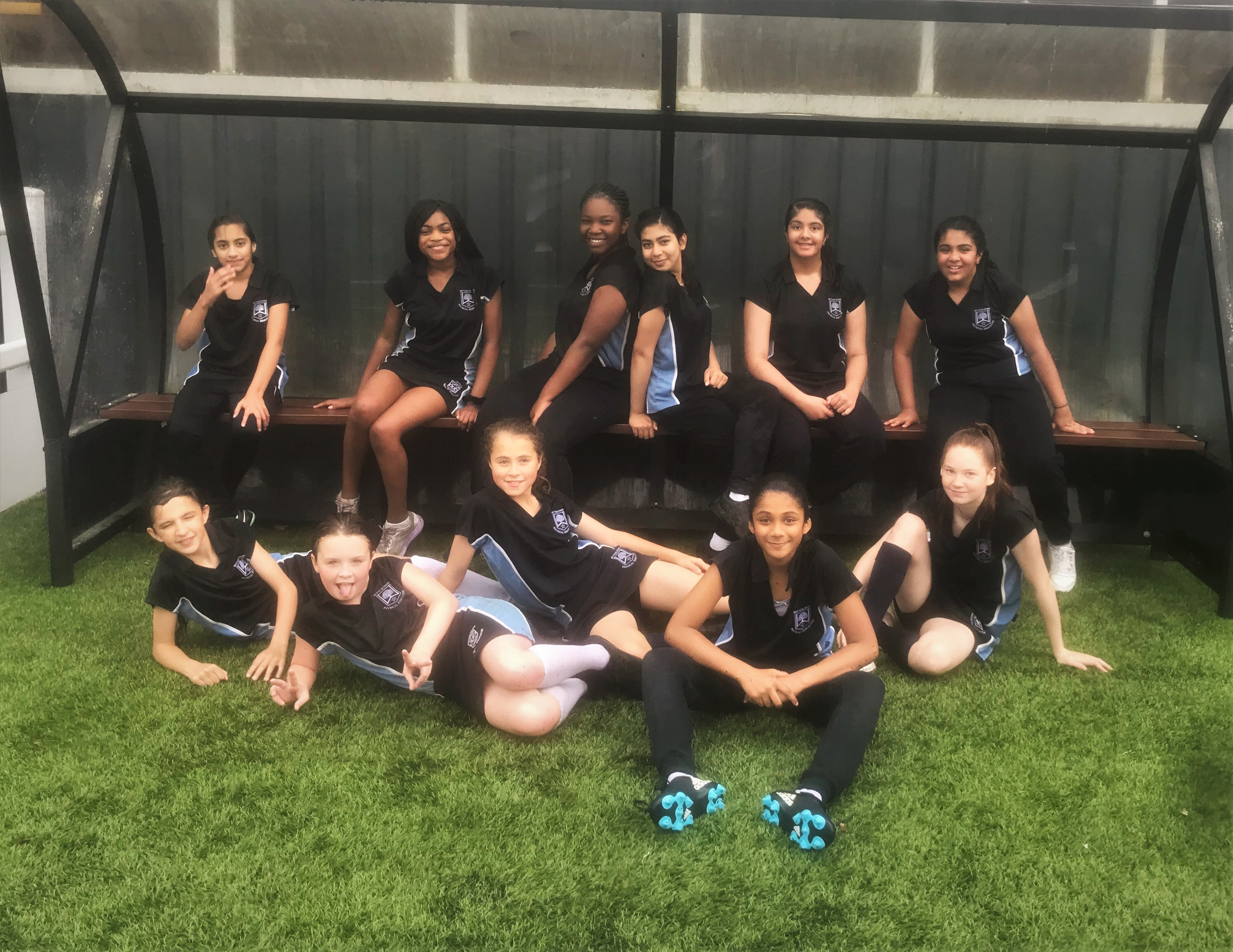 U13 Girls Rugby team competition