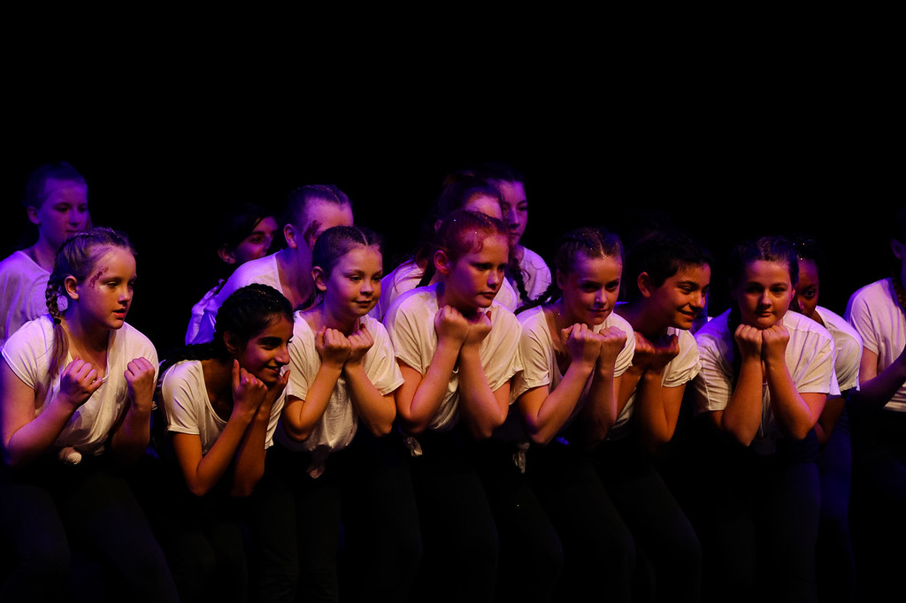 Dance club group performance at Burnley's Gotta Dance