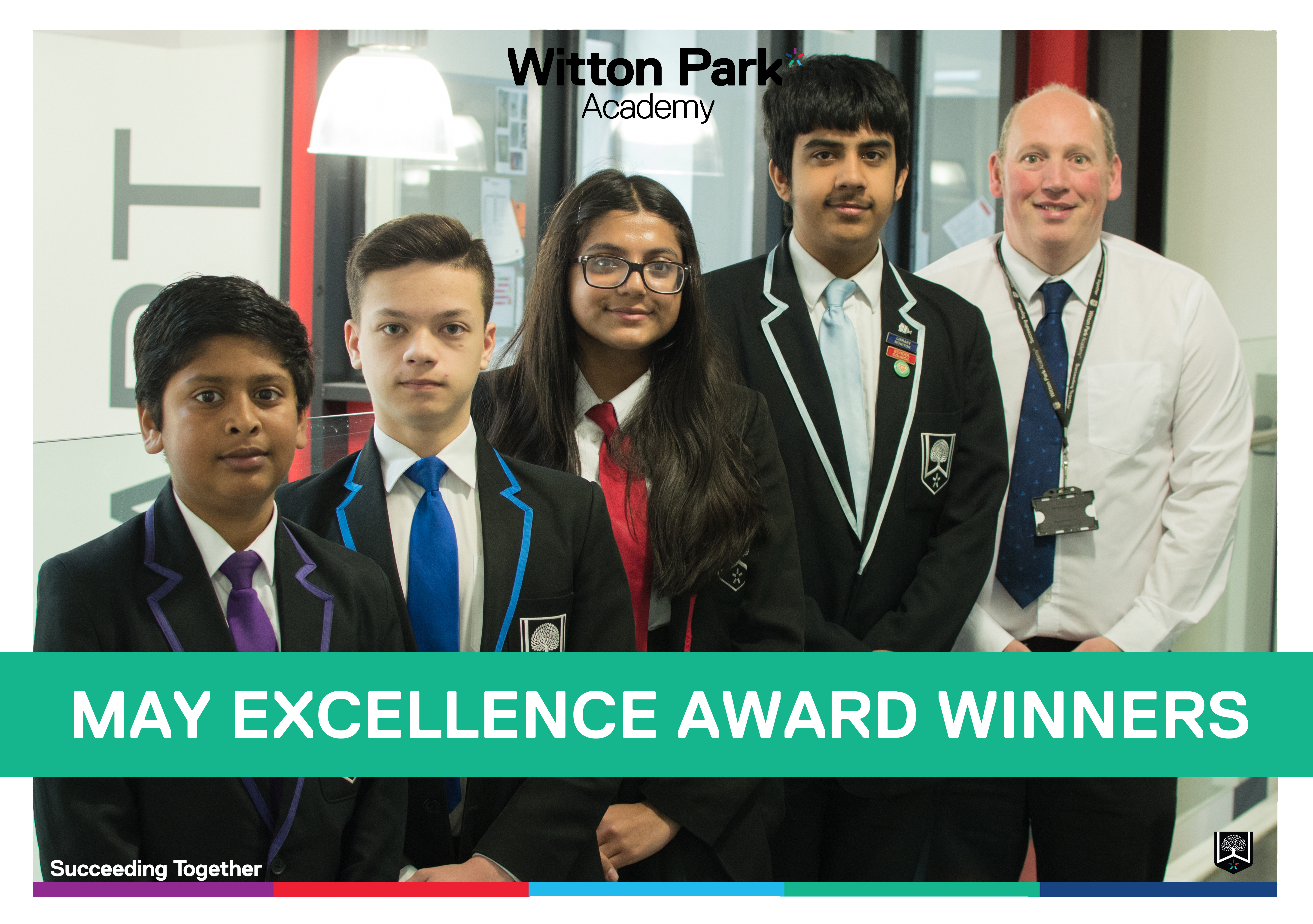 Well done to this month's excellence awards winners