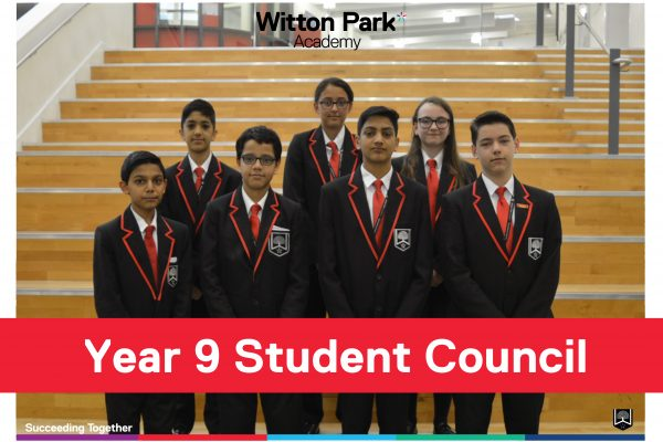 Student Council 2019 Year 9