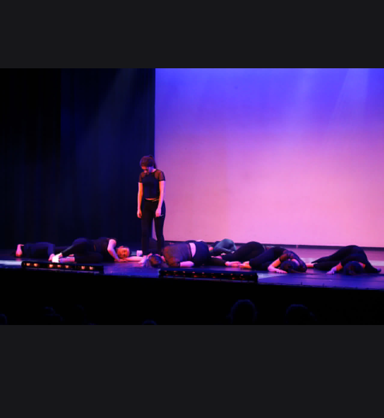 Dance performance at Burnley Mechanics Theatre part 2